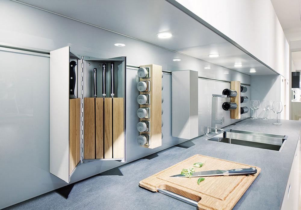 Abbildung Kombination Einbauküche und Standgeräte
