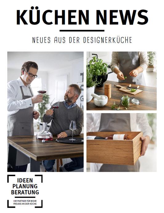 Abbildung Prospekt Angebote Schueller Neues aus der Designerküche 2019 2020